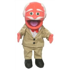 "14"" Pops Glove Puppet in Orange"
