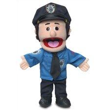 "14"" Caucasian Policeman Glove Puppet"