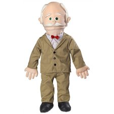 "<strong>Silly Puppets</strong> 30"" Pops Professional Puppet with Removable Legs in Peach"