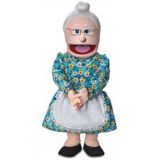"<strong>Silly Puppets</strong> 30"" Granny Professional Puppet with Removable Legs"