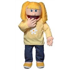 "<strong>Silly Puppets</strong> 30"" Katie Professional Puppet with Removable Legs"
