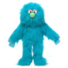 "<strong>Silly Puppets</strong> 14"" Blue Monster Glove Puppet"