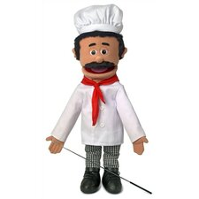 "25"" Chef Luigi Full Body Puppet"