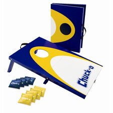 <strong>Fundex Games</strong> Chuck-O To Go Cornhole Game Set