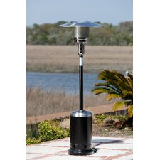Hammer Tone and Stainless Steel Commercial Patio Heater