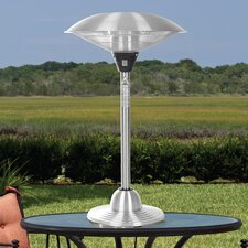 Stainless Steel Table Top Electric Halogen Patio Heater