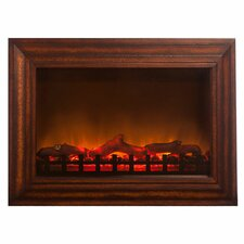 Wood Wall Mounted Electric Fireplace