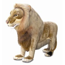Ride-On Life Size Lion Stuffed Animal