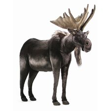 <strong>Hansa Toys</strong> Ride-On Life Size Moose Stuffed Animal