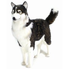 <strong>Hansa Toys</strong> Life Size Husky Dog Stuffed Animal