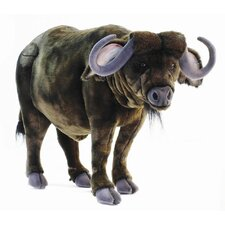 "19.8"" Medium Water Buffalo Stuffed Animal"