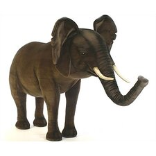 Ride-On Baby Elephant Stuffed Animal
