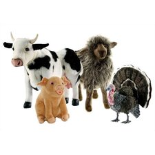 <strong>Hansa Toys</strong> Barnyard Stuffed Animal Collection I