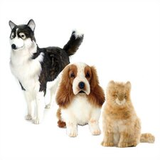 <strong>Hansa Toys</strong> Domestic Pet Stuffed Animal Collection I