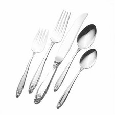 Sterling Silver Prelude 46 Piece Flatware Set / Serving Setting