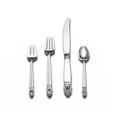 Royal Danish 4 Piece Dinner Flatware Set