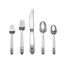 Royal Danish 5 Piece Dinner Flatware Set with Place Spoon