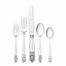 Royal Danish 66 Piece Dinner Flatware Set