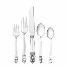Sterling Silver Royal Danish 66 Piece Dinner Flatware Set
