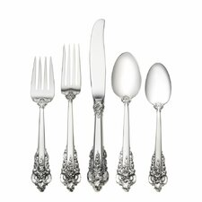 Grande Baroque 5 Piece Dinner Flatware Set