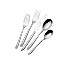 20 Piece Wave Flatware Set