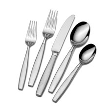 <strong>Towle Silversmiths</strong> Gia 42 Piece Dinner Flatware Set