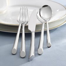 <strong>Towle Silversmiths</strong> Wave 42 Piece Flatware Set