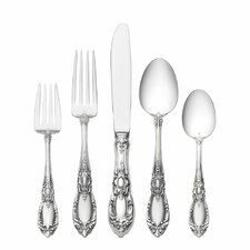 Sterling Silver King Richard 5 Piece Dinner Flatware Set
