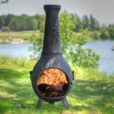 Sun Stack Chiminea with Gas Kit