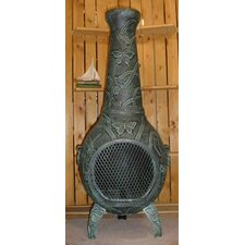 Butterfly Style Chiminea with Gas Kit