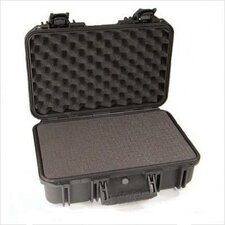 "Mil-Standard Injection Molded Cases: 20 1/2"" L x 15 1/2"" W x 10"" H (inside) with pull-handle & wheels"