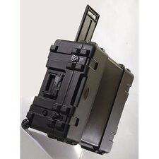 "Mil-Standard Roto Case: 12 3/8"" H x 25 3/4"" W x 20 3/4"" D (outside)"