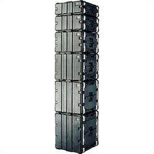 "<strong>SKB Cases</strong> Standard 19"" Rack Case: 19""W x 15 3/4"" D x 10 1/2""H (inside)"