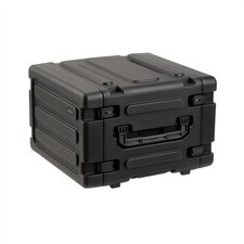 "6U Roto Rolling Shock Rack Case - 20"" Deep"