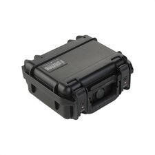 "Small Military Standard Waterproof Case (w/ Layered Foam) in Black - 9.25"" H  x 7.125"" W x 4.125"" D (inside)"