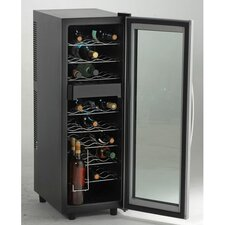 27 Bottle Dual Zone Wine Cooler