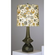"Jayne Contemporary 31"" H Table Lamp with Drum Shade"
