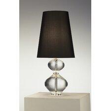 "Claridge Lantern 22"" H Table Lamp with Empire Shade"