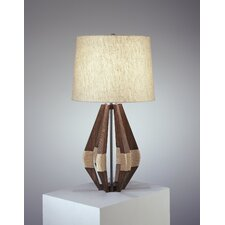 "Wauwinet Jonathan Adler 28.25"" H Table Lamp with Drum Shade"