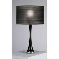 "Kate Small 25"" H Table Lamp with Drum Shade"