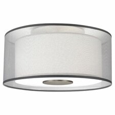 <strong>Robert Abbey</strong> Saturnia 2 Light Flush Mount