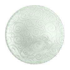 """Mediterranean Wave 19"""" Round Platter"""