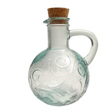 Mediterranean Wave 14 oz. Oil and Vinegar Cruet (Set of 2)