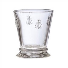LaRochere 9 Ounce Water Glass in Napoleonic Bee Motif (Set of 6)