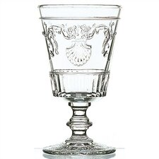 LaRochere 14 Ounce Wine Glass in Versaillies Motif (Set of 6)