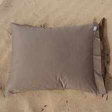 Cotton Jersey Plain Pillowcase in Coffee  (set of 2)