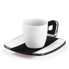 Square Coffee Espresso Cup (Set of 2)