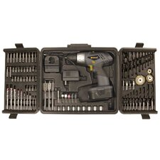 <strong>Worker</strong> Worker 91 Piece Two Speed Variable Trigger Drill Combo Kit