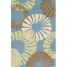 Sawgrass Mills Fruit Cocktail Blue Indoor/Outdoor Rug
