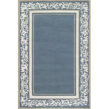 Sawgrass Mills Grace Blue Indoor/Outdoor Rug
